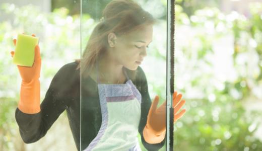 窓ガラス掃除が簡単&時短に!コツとお役立ちアイテム